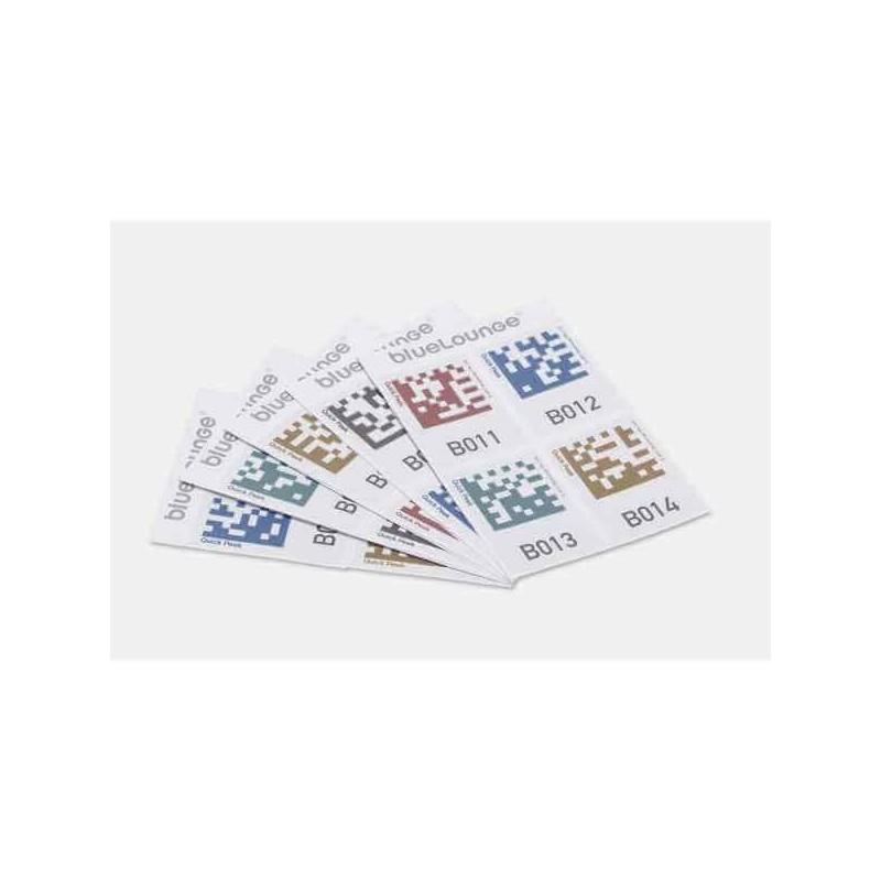Bluelounge Quick Peek opslag labels - 32 Stickers