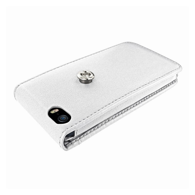 Piel Frama Magnetic iPhone 5(S)/SE wit