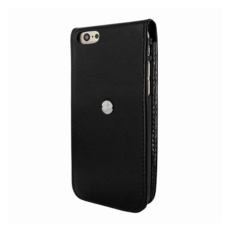 Piel Frama Magnetic iPhone 6(S) Swarovski zwart