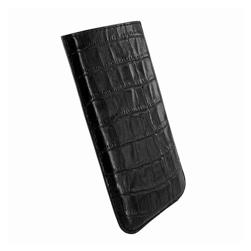 Piel Frama Pull Sleeve iPhone 6(S) / 7 Crocodile zwart