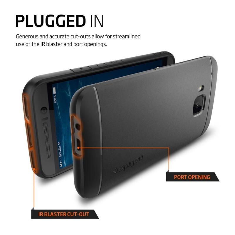Spigen Capsule HTC One M9 zwart