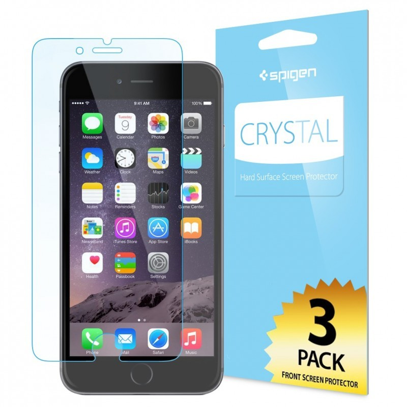 Spigen Screen Protector Crystal 3-Pack iPhone 6(S) Plus
