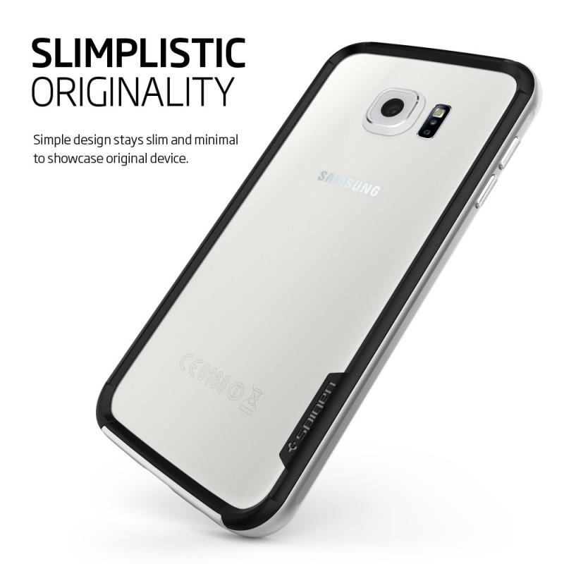 Spigen Neo Hybrid EX Galaxy S6 Satin Silver