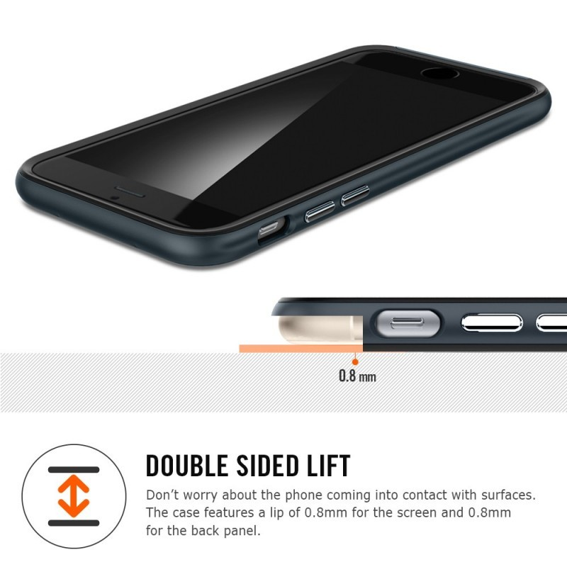 Spigen Neo Hybrid EX iPhone 6(S) Plus Gunmetal