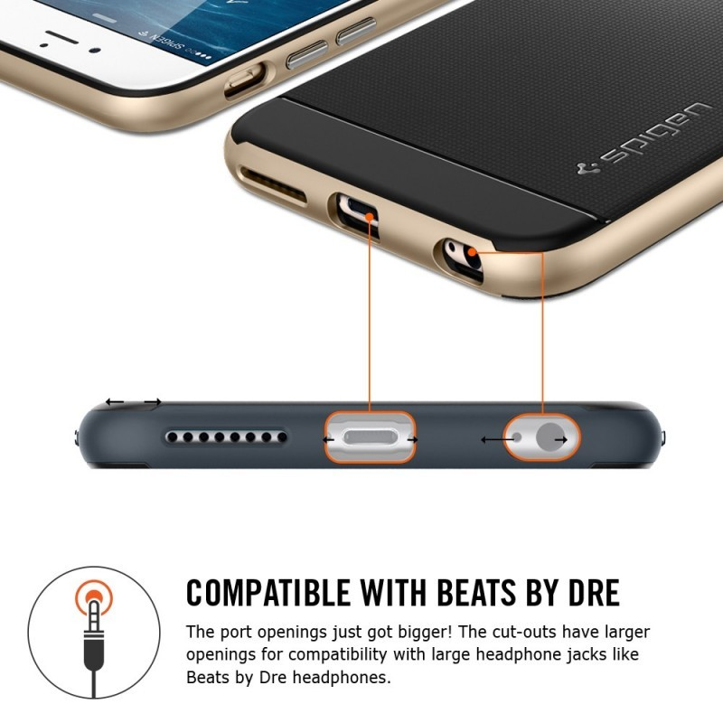 Spigen Neo Hybrid iPhone 6(S) Plus Gunmetal