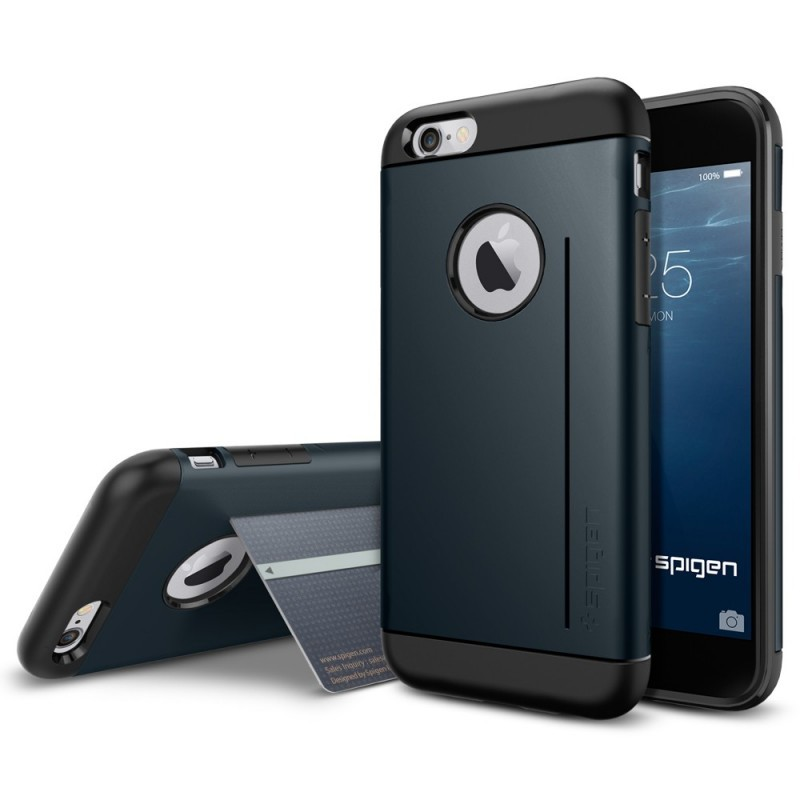 Spigen Slim Armor S iPhone 6(S) Metal Slate