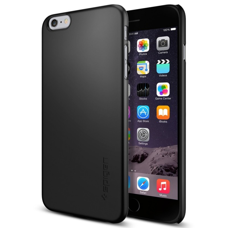 Spigen Thin Fit iPhone 6(S) Plus Smooth Black