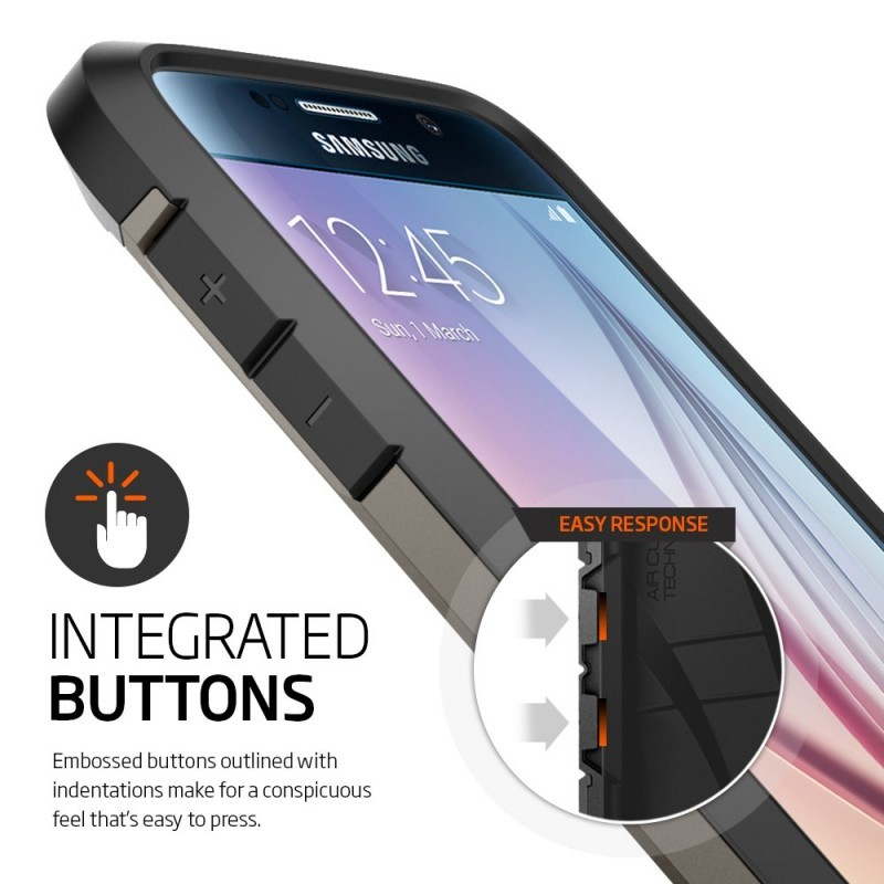 Spigen Tough Armor Galaxy S6 Gunmetal