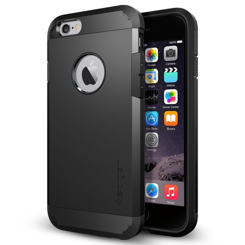 Spigen Tough Armor iPhone 6(S) Smooth Black