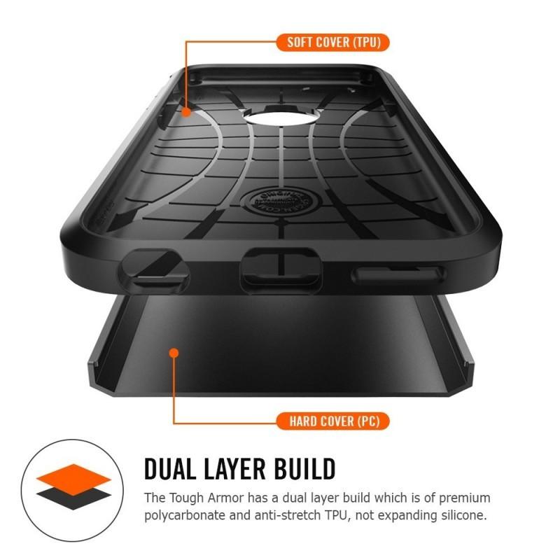 Spigen Tough Armor iPhone 7 zwart