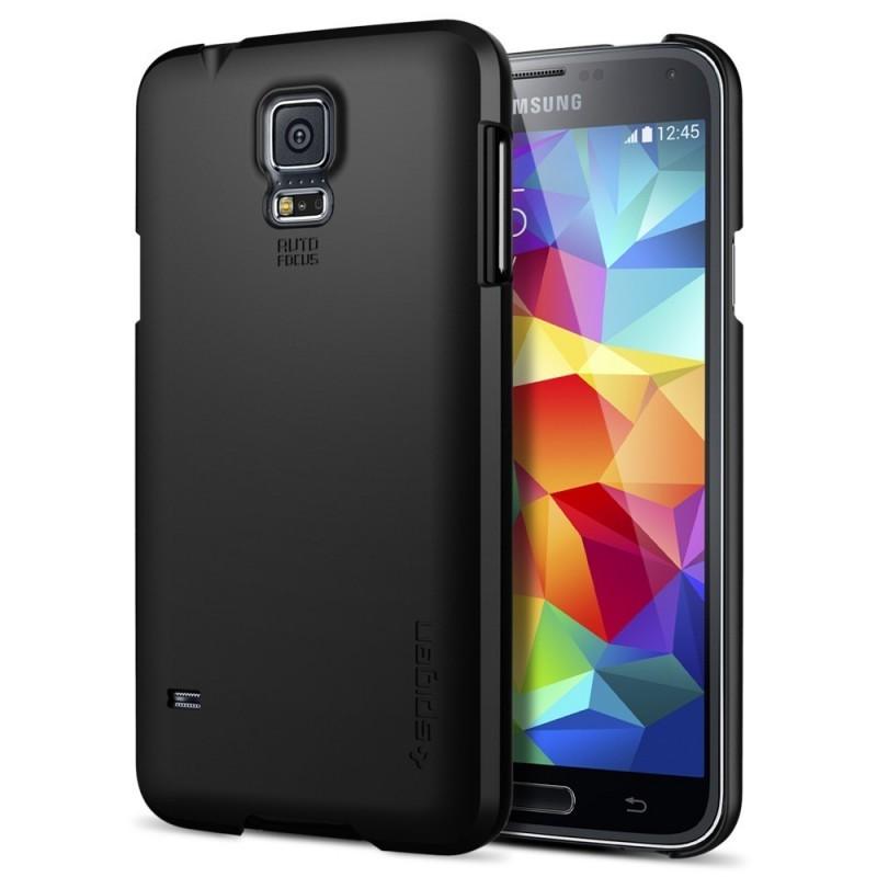 Spigen Ultra Fit Samsung Galaxy S5 Smooth Black