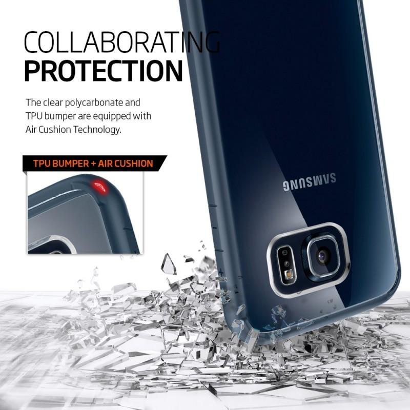 Spigen Ultra Hybrid Galaxy S6 Metal Slate
