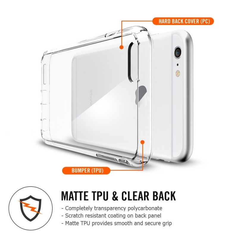 Spigen Ultra Hybrid iPhone 6(S) Plus Crystal Clear