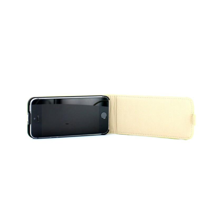 Eco iPhone 5 / 5S Flip Case Lime