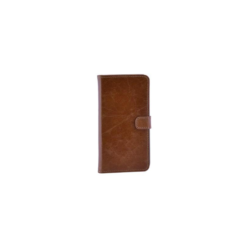 Milano CC iPhone 6 Plus / 6S Plus Book Case Ginger Tan