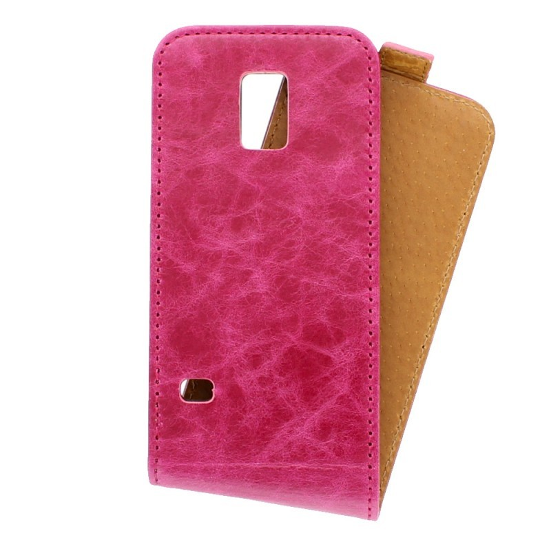 Toscana Galaxy S5 Mini Flip Case Pink