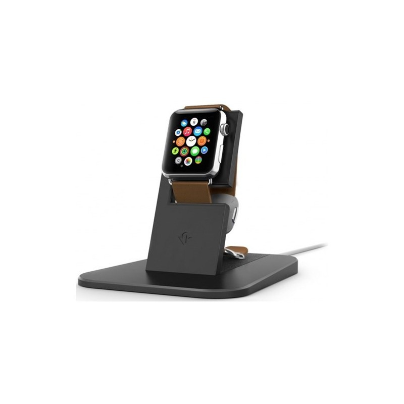 Twelve South HiRise Apple Watch zwart