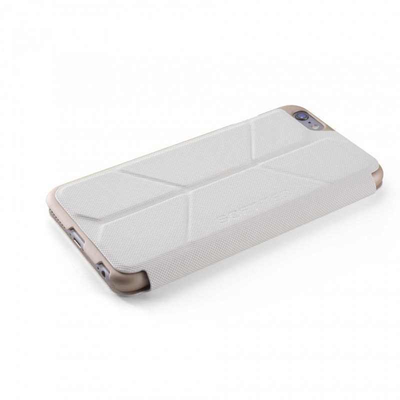 Element Case Soft-Tec Wallet iPhone 6(S) wit/goud