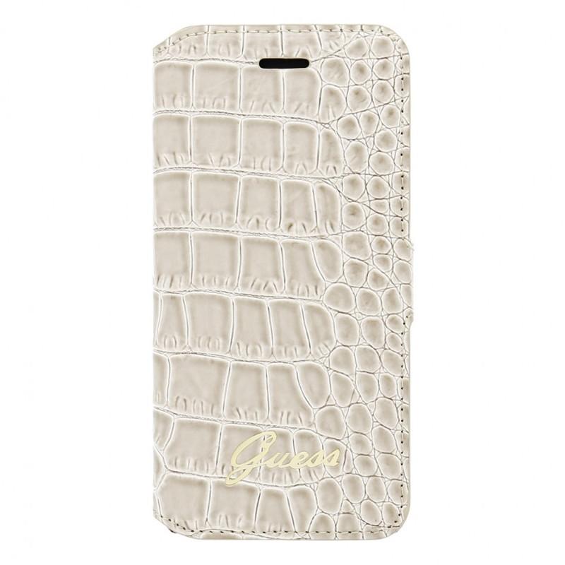 Guess Croco Bookcase iPhone 6(S) beige