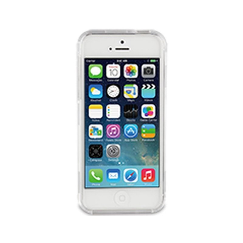 Muvit Crystal Case Rugged iPhone 5(S)/SE Clear