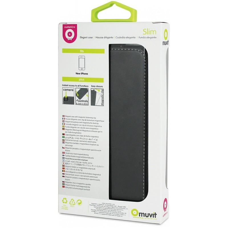 Muvit Slim Case iPhone 5 / 5S Black