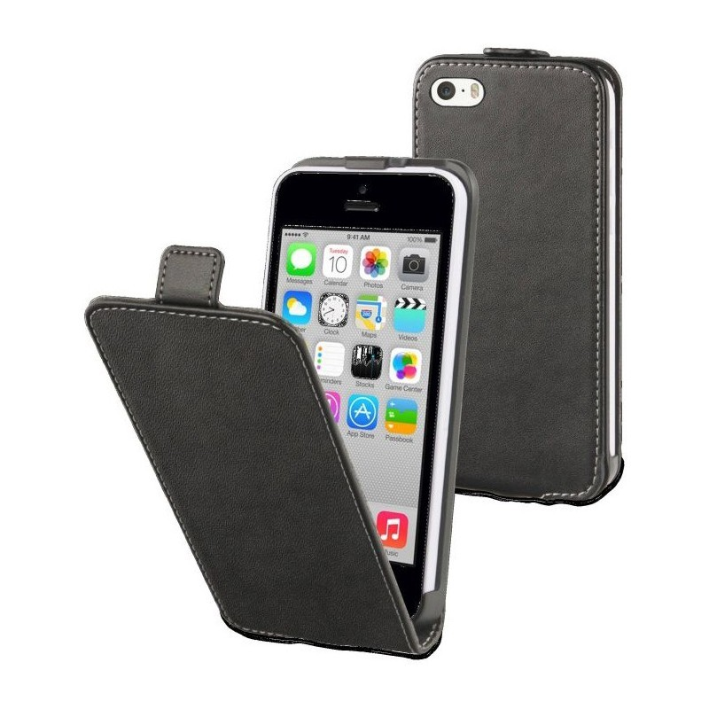 Muvit Slim Case iPhone 5C zwart