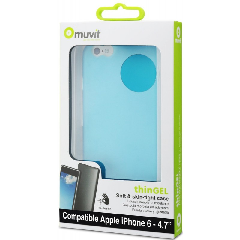 Muvit ThinGel Case iPhone 6 / 6S Blue