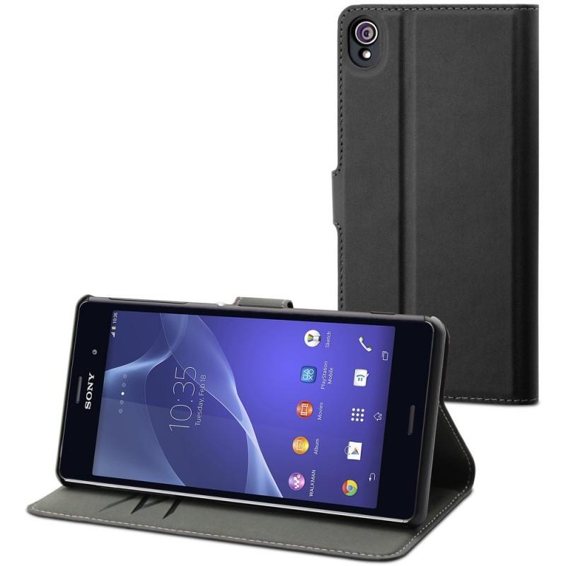 Muvit Wallet Case Xperia Z3 Black
