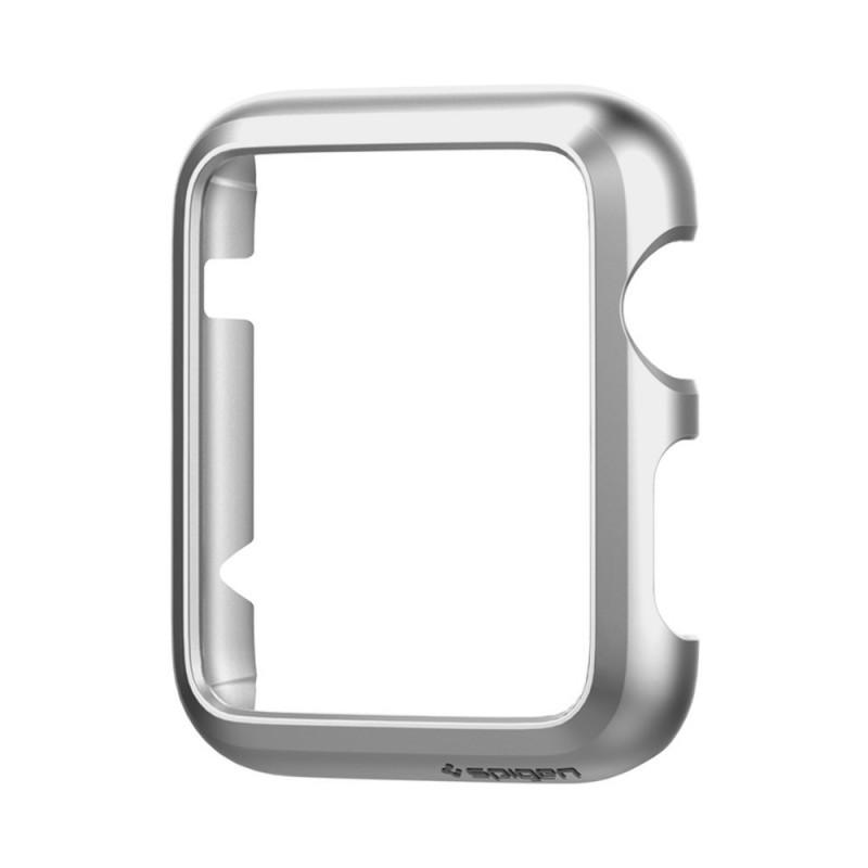 Spigen Thin Fit Apple Watch 38mm Satin Silver