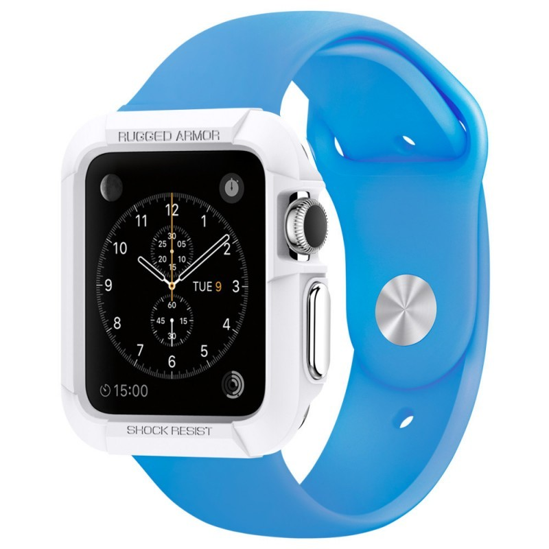 Spigen Rugged Armor Apple Watch 42mm wit