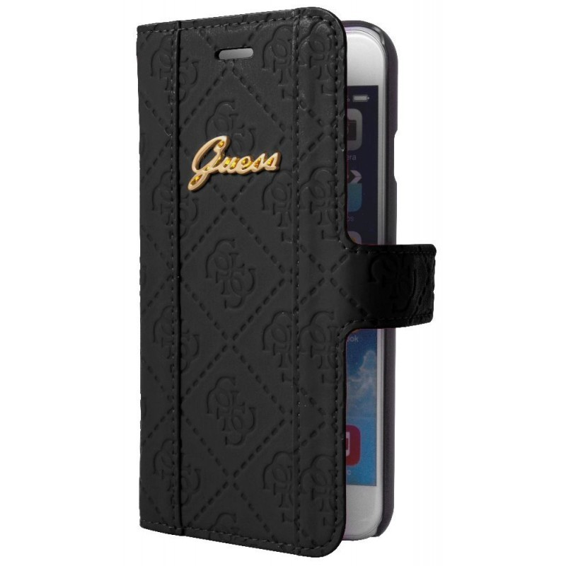 Guess Scarlett iPhone 6 Plus / 6S Plus Folio Case Black