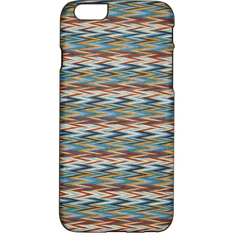 Man and Wood iPhone 6(S) Back case Enricos Check Black