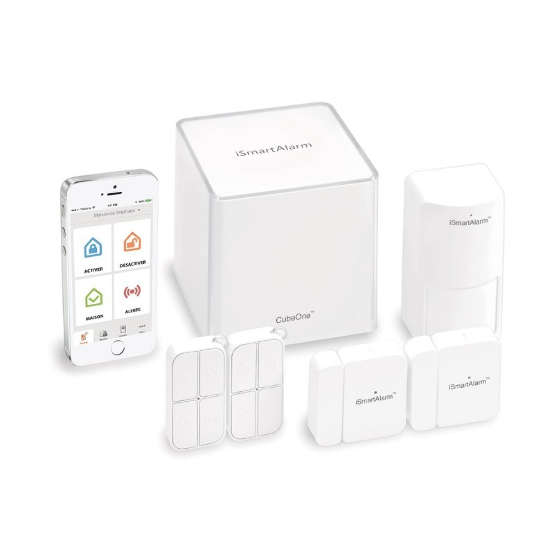 iSmartAlarm Smartphone Home Security System