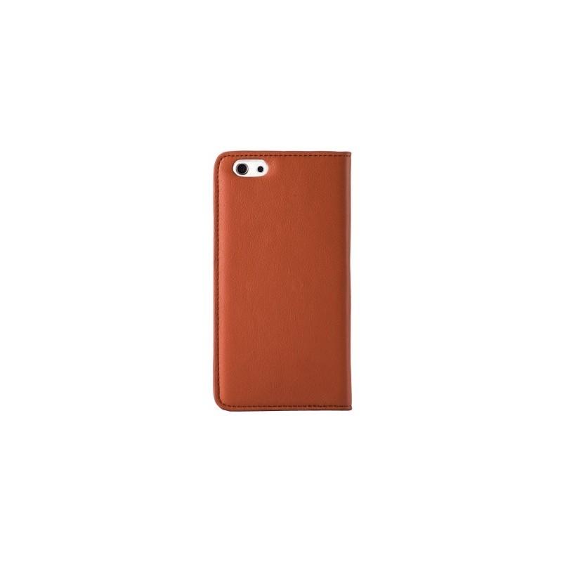 Melkco Herman iPhone 6 / 6S Book Case Italian Brown