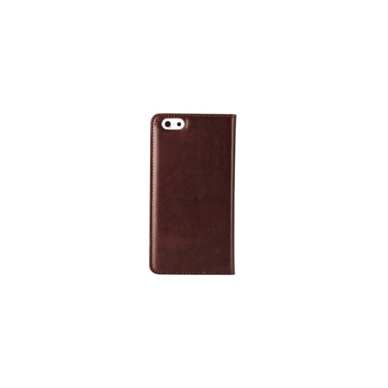 Melkco Herman iPhone 6 / 6S Book Case Italian Coffee