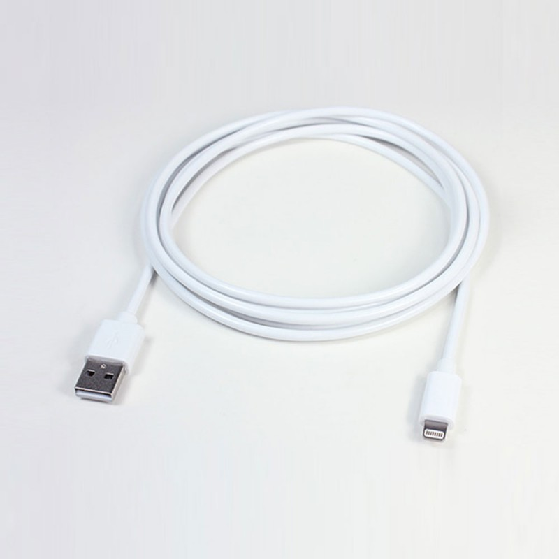 iBoltz XL Lightning Cable 2 m White