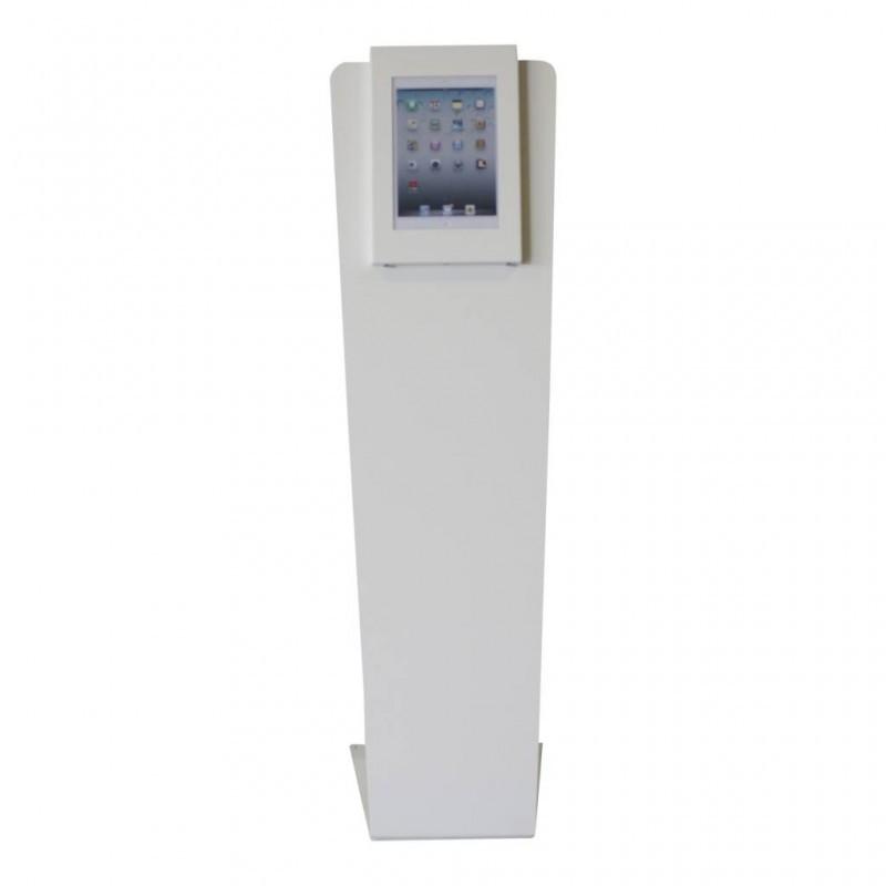 Tablet vloerstandaard Securo Kiosk iPad Pro 12,9 Inch wit