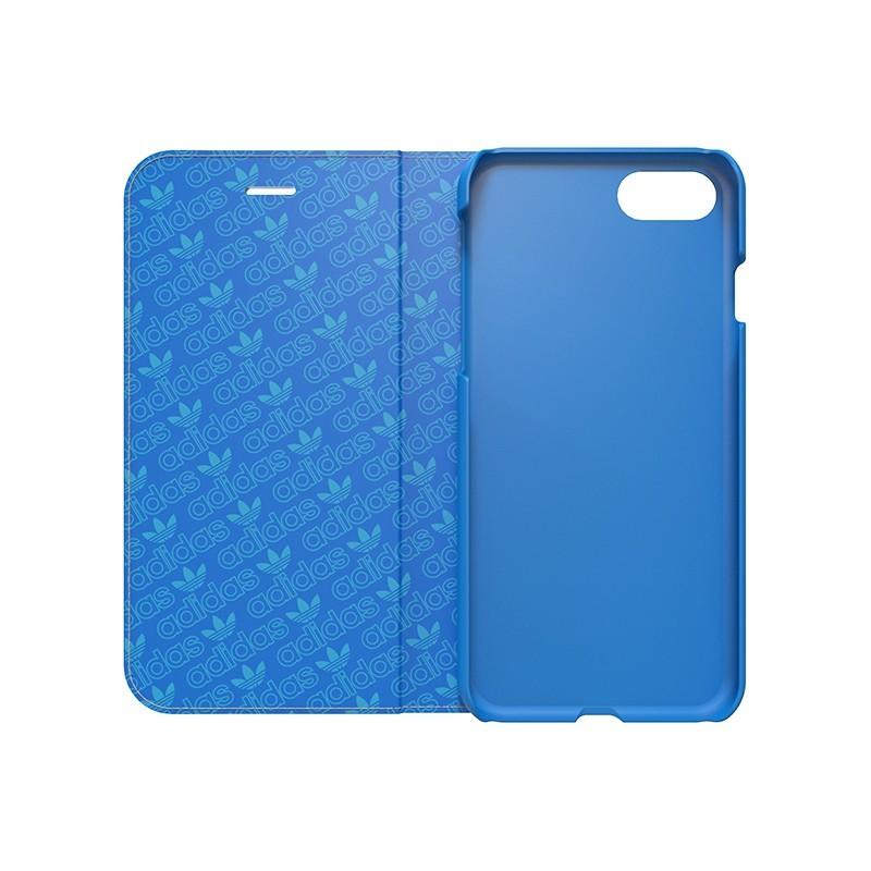 Adidas Booklet case iPhone 7 blauw