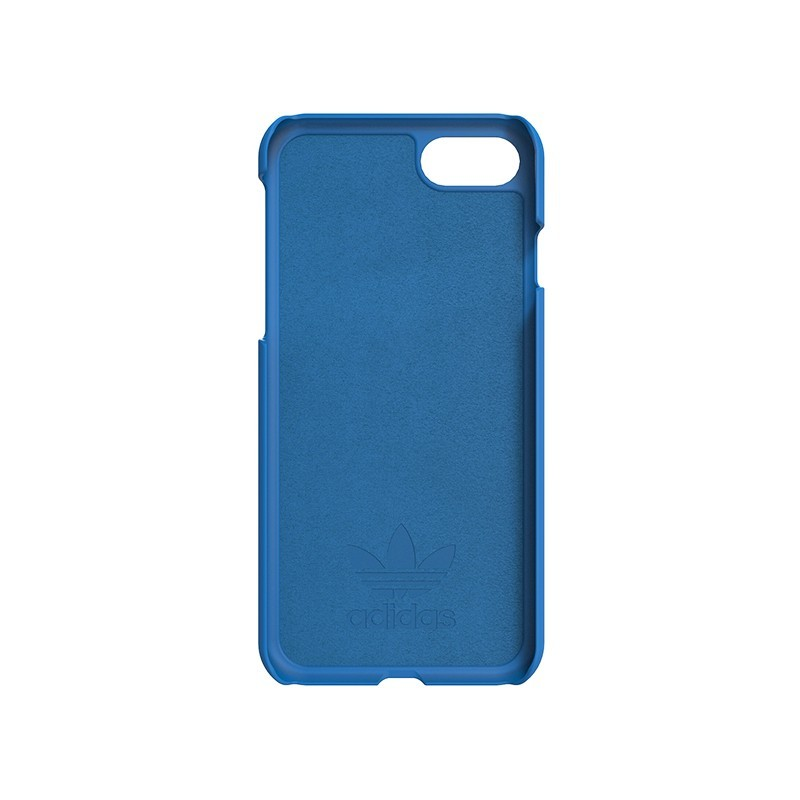 Adidas Moulded case iPhone 7 blauw