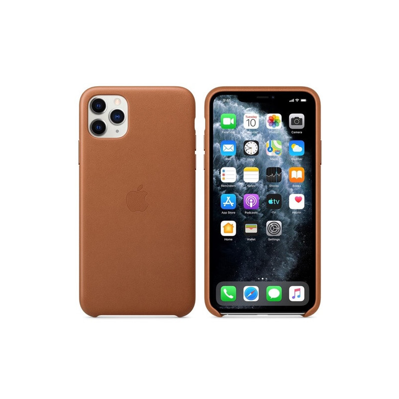 Apple leather case iPhone 11 Pro Saddle Brown