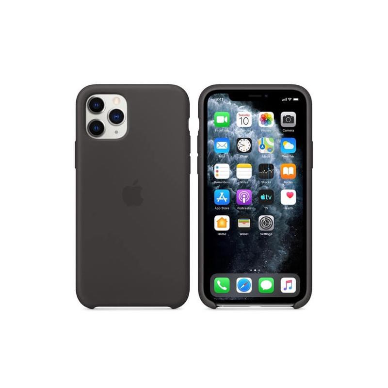 Apple silicone case iPhone 11 Pro black