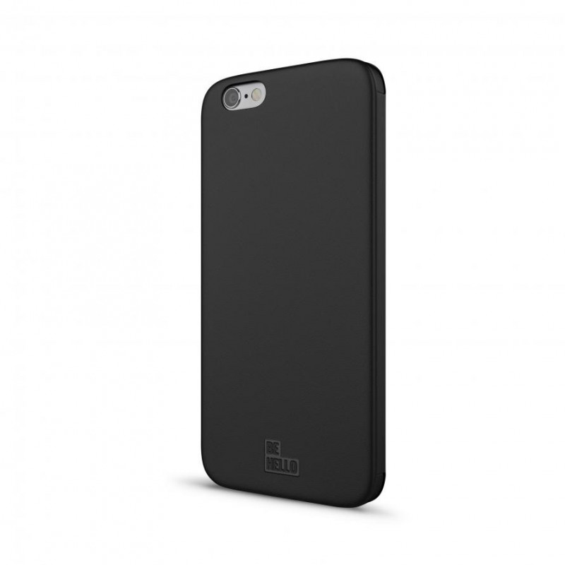 Be Hello Clear touch Book Case iPhone 6(S) zwart