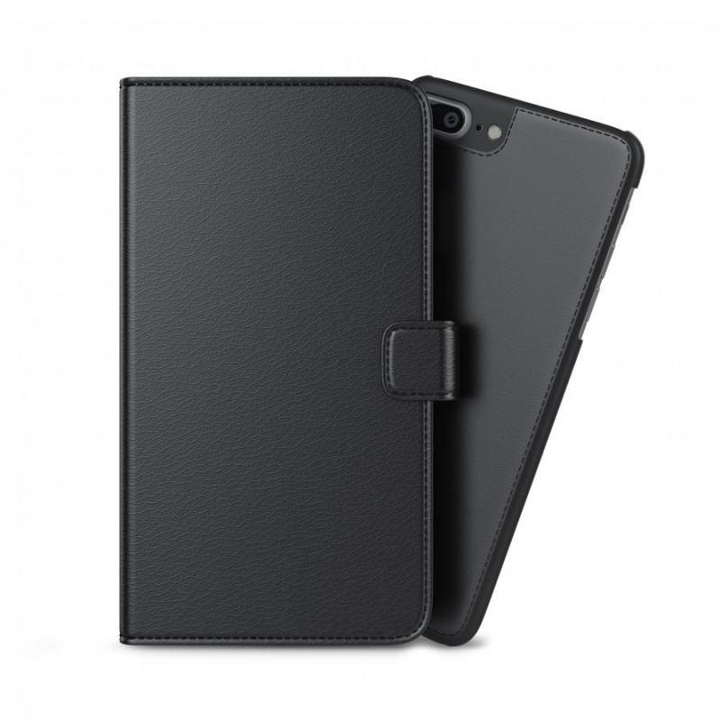 BeHello 2-in-1 Wallet Case iPhone 6(S) / 7 zwart