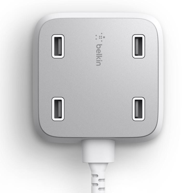 Belkin Family Rockstar 4-Port USB Charger wit