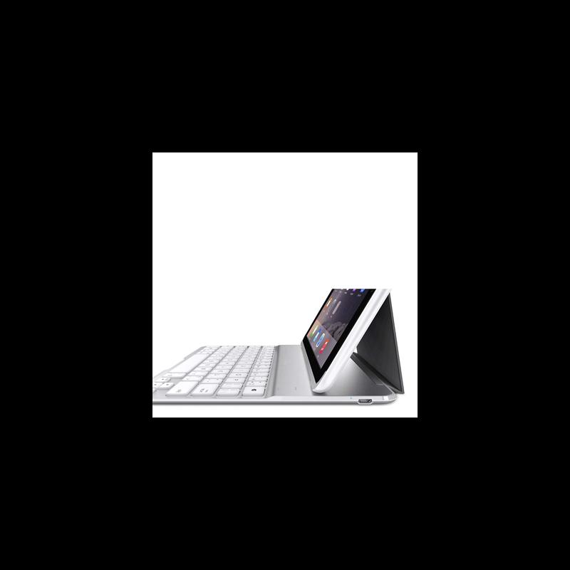 Belkin QODE Ultimate Keyboard Case QWERTY iPad Air 2 wit (F5L178EAWHT)