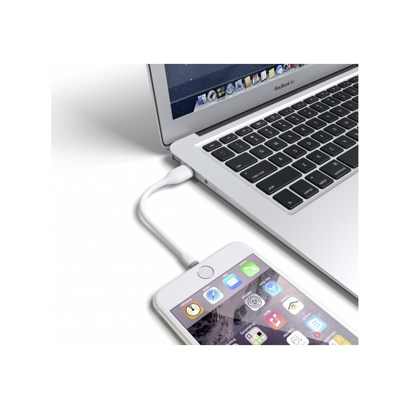 Satechi Flexible Lightning to USB Cable (0,15 m) wit