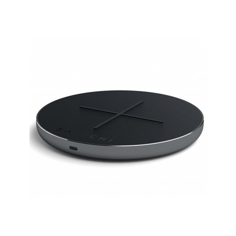 Satechi Aluminum PD & QC Wireless Charger grijs