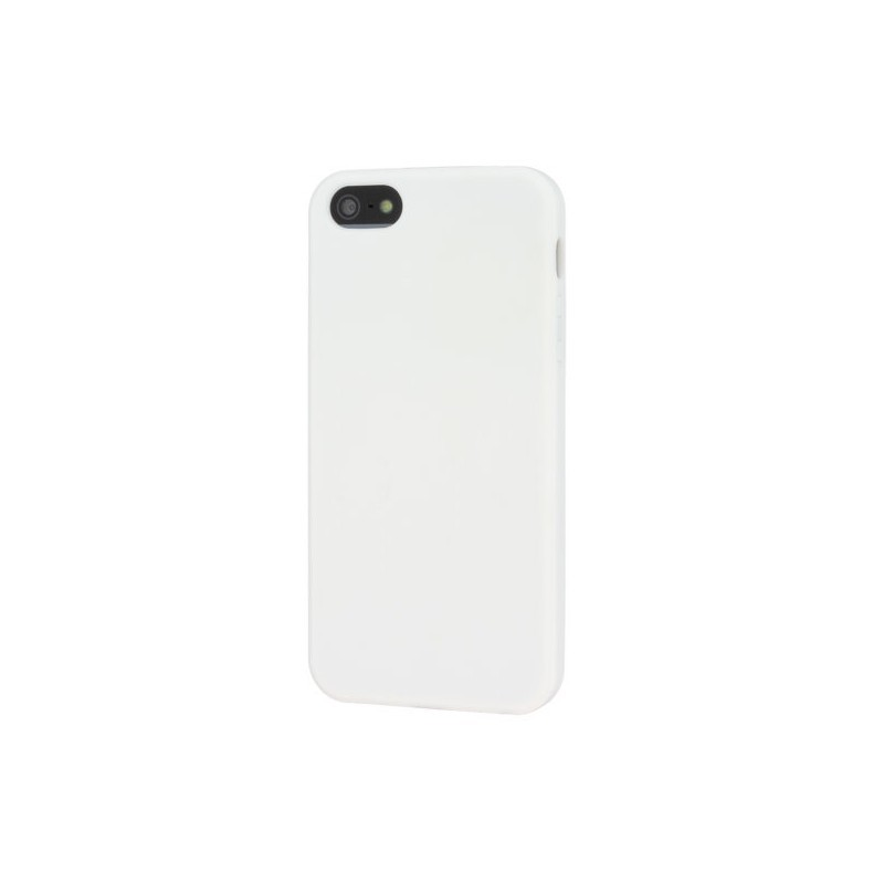 Muvit Siliconen Case iPhone 5(S)/SE wit