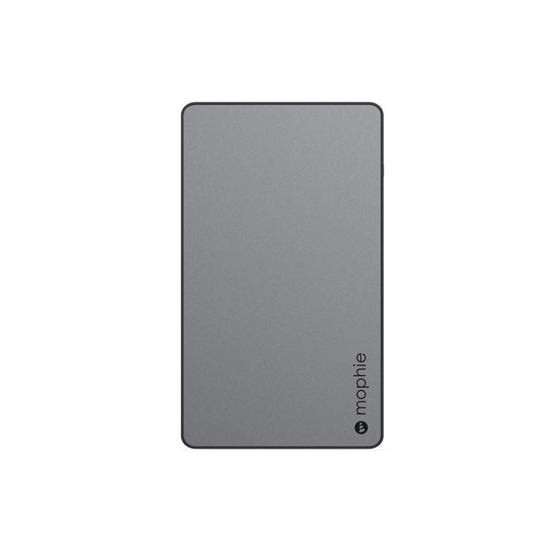 Mophie Universal quick charge external battery 6000mAh grijs