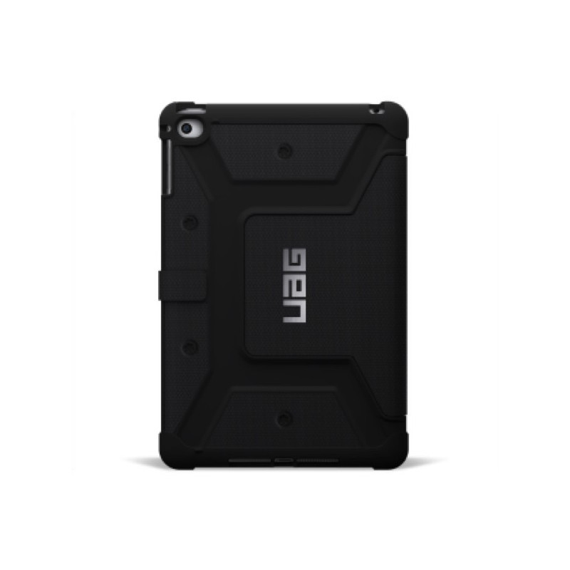 Urban Armor Gear Folio Scout case iPad Mini 4 zwart
